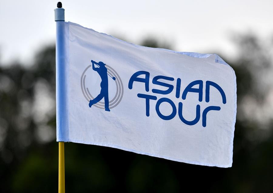 Asian Tour Pin Flag
