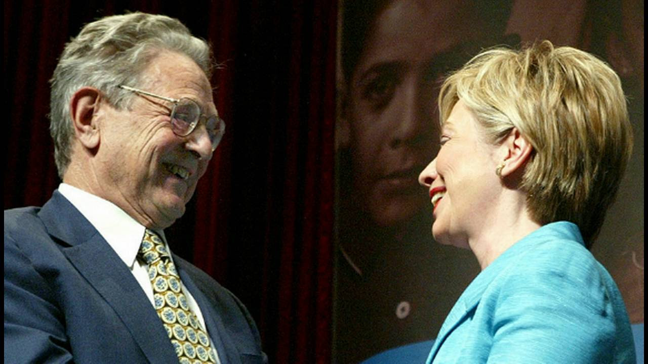 George Soros apoyo la campaña de Hillary Clinton. Son amigos de vieja data