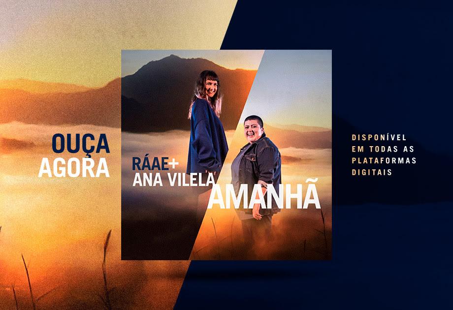 """Clássico de Guilherme Arantes, """"Amanhã"""" ganha nova versão nas vozes de Ana Vilela e Ráae"""