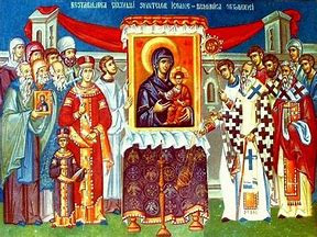 Image result for sunday of orthodoxy icon