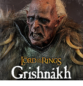 1/6 SCALE THE TWO TOWERS GRISHNAKH FIGURE