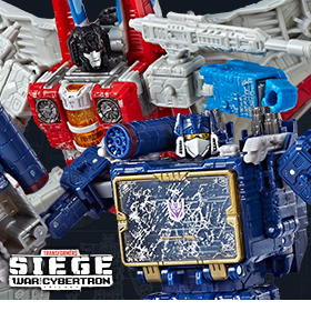 WAR FOR CYBERTRON: SIEGE VOYAGER WAVE 2