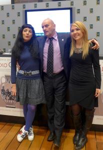 Roser Amills, M.A.Almodóvar i Meritxell Falgueras