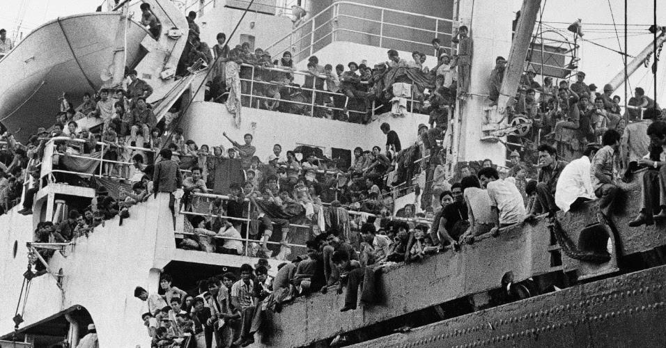 28 tháng Tư 1975: Tàu SS Pioneer Contender