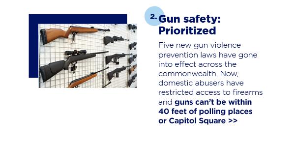 2. Gun safety: Prioritized