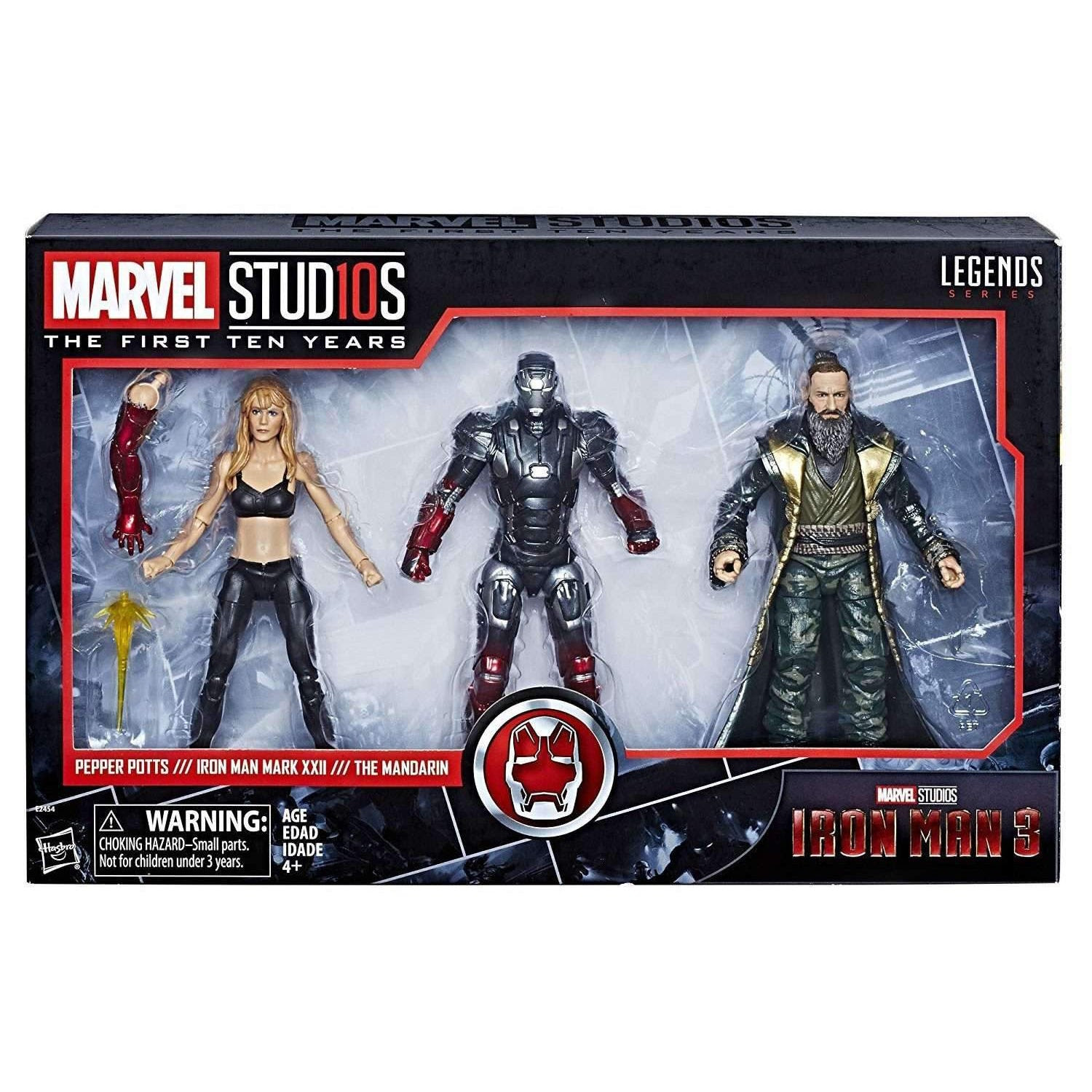 Image of Marvel Studios: The First Ten Years Marvel Legends - Iron Man 3: Pepper Potts, Iron Man, and Mandarin - APRIL 2019