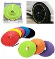 IPA + 3M 94 Car Tuning Vehicle Wheel Rims Protector Tire Guard (Green)