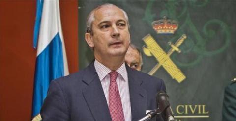 El director general de la Guardia Civil, Arsenio Fernández de Mesa. EFE/Archivo