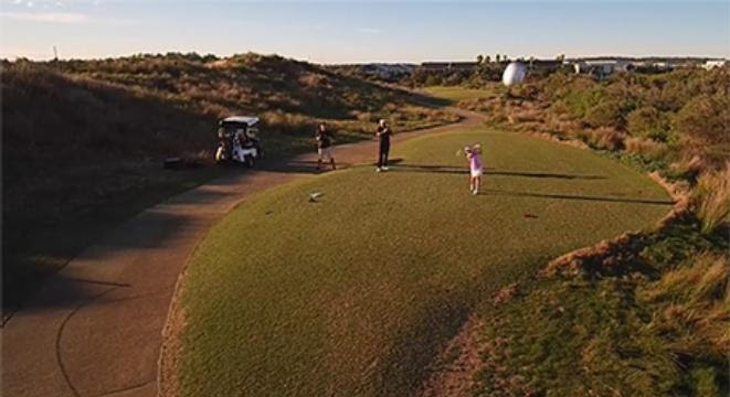 8-Year-Old Golf Prodigy Nails A Drone Right Out Of The Sky With A Nasty Drive