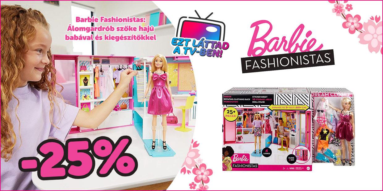 Barbie Fashionista szettek akcióban!