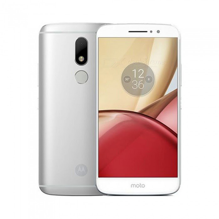 Extra $26 OFF Motorola MOTO M Android 6.0 Smartphone with 4GB RAM, 32GB ROM - Silver