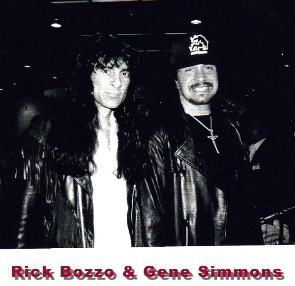 Rick with Gene Simmons