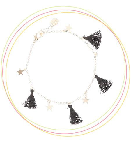 Stars and Tassels Anklet Bracelet