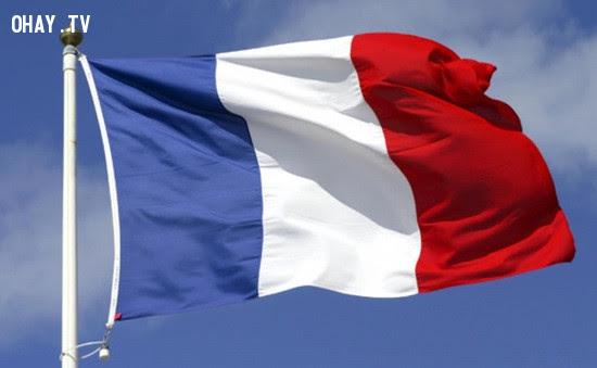 4. Pháp,ý nghĩa quốc kì,lá cờ của các nước,những điều thú vị trong cuộc sống