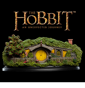 13 APPLE ORCHARD HOBBIT HOLE DIORAMA