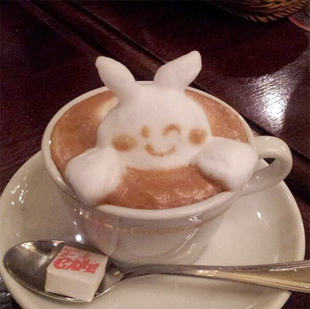 Coffee Sculpture