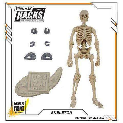 Image of Vitruvian H.A.C.K.S. Skeleton Blank - White