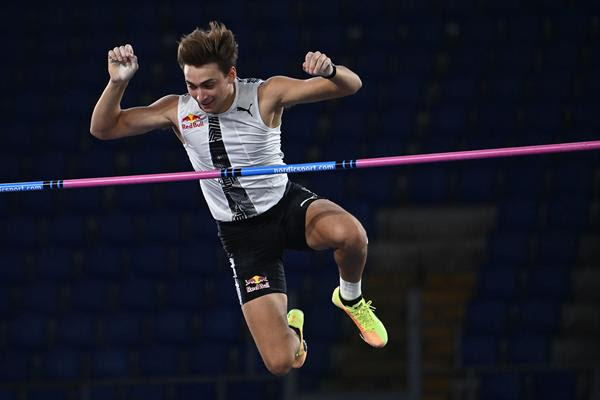 Mondo Duplantis. Photo: World Athletics.
