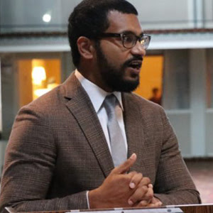 Early career Arun Puracken aims to get involved in establishing school policy