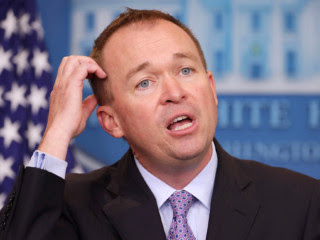 Rather than trying to defend all the accounting trickery, Trump's budget director, Mick Mulvaney, insisted that the White House was not in a position to go into more detail than a summary provided.