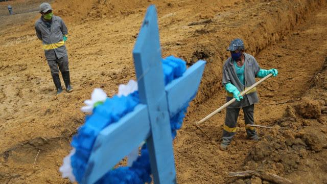 Brasil supera 400 mil mortos por Covid com inépcia do governo federal