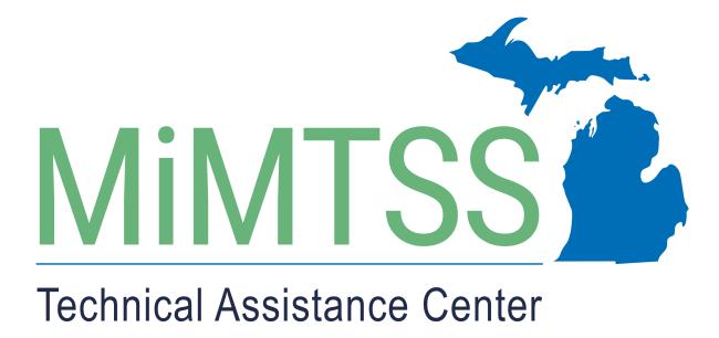 Michigan's MTSS Technical Assistance Center logo.