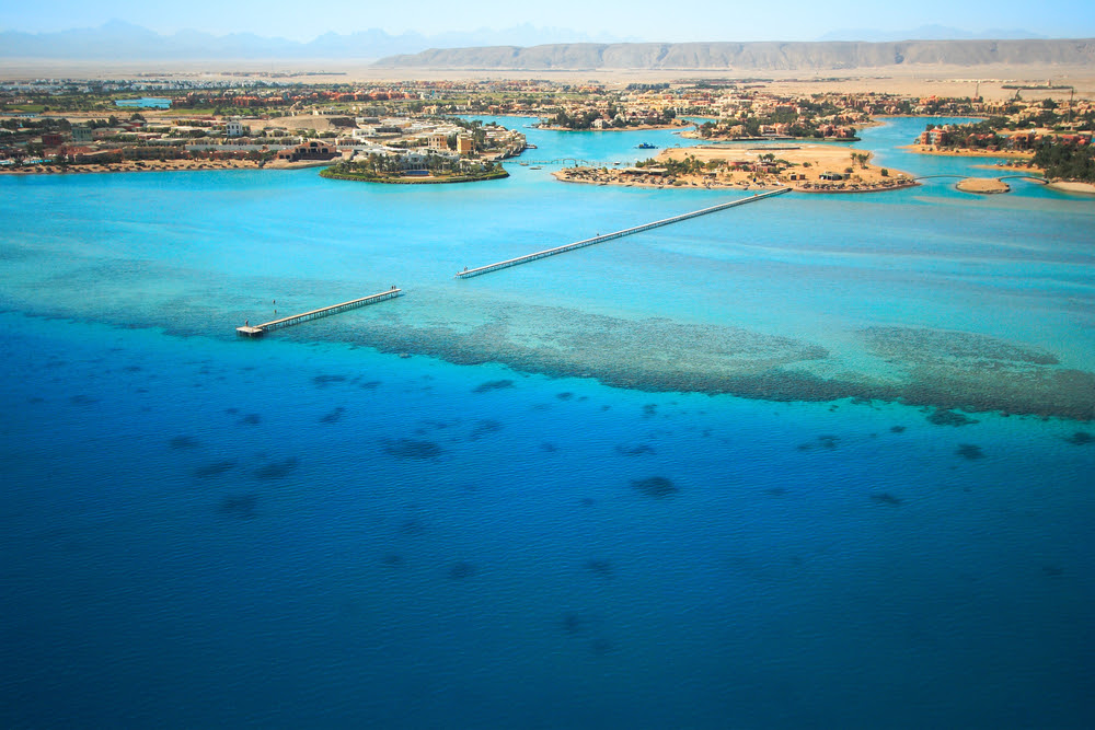 el gouna carbon neutral city Egypt