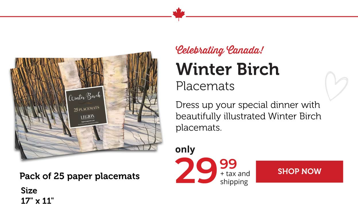 Winter Birch Placemats