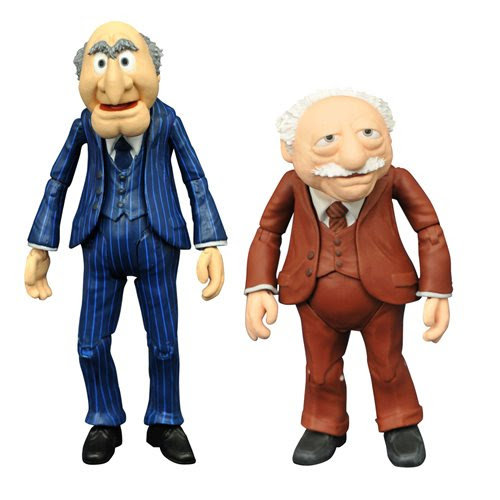 Image of Muppets Best Of Series 2 Statler & Waldorf Action Figure - JANUARY 2021
