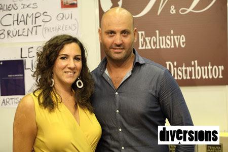 Nunzia & Dario vous accueillent sur leur stand italien à l'occasion de la Foire aux Vins d'Andelnans