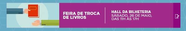 SÁBADO LITERÁRIO: FEIRA DE TROCA DE LIVROS