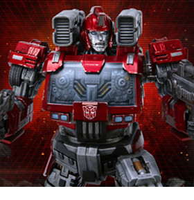 TRANSFORMERS: LEGACY OF CYBERTRON IRONHIDE STATUE