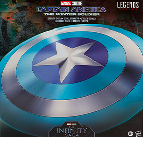 Captain America: The Winter Soldier Marvel Legends Series The Infinity Saga Captain America's Shield (Stealth Ver.)