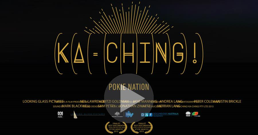 Kaching! Trailer - Docvumentary on poker machine addiction