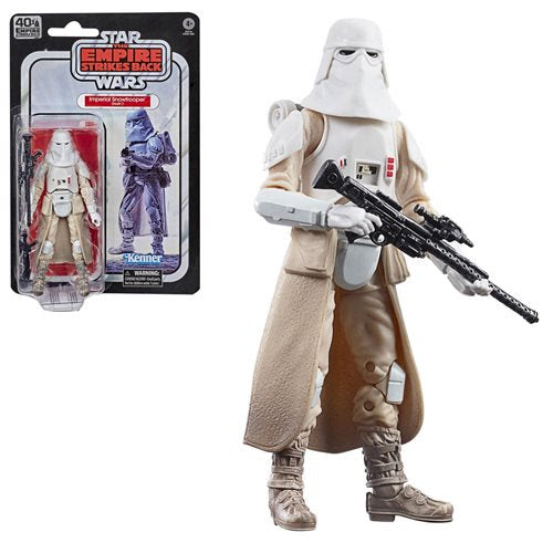 Image of Star Wars The Black Series Empire Strikes Back 40th Anniversary 6-Inch Snowtrooper Action Figure