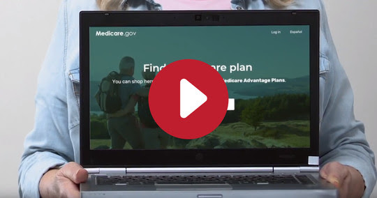 Plan Finder video - play button