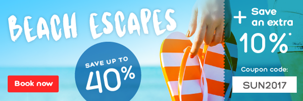 Beach Escapes: Save an extra 10%