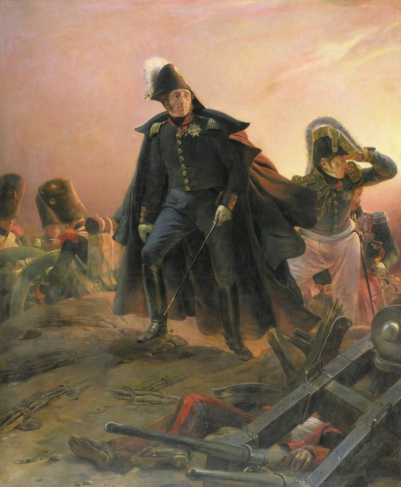 Duque de Angulema en el Trocadero; Hippolyte Delaroche.jpg