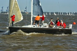 J/109 sailing JFest SW- Houston, TX