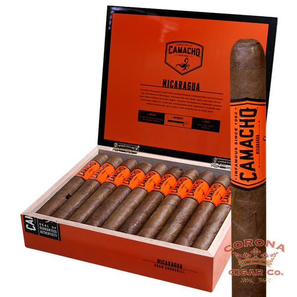 Image of Camacho Nicaragua Gran Churchill Cigars
