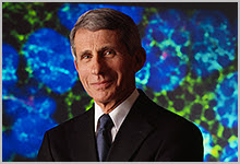 A headshot of Dr. Fauci from the story.