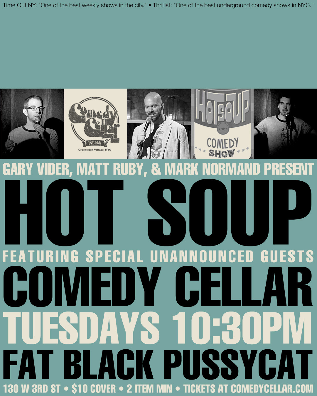 hot soup comedy cellar
