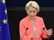La titular de la Comisión Europea, Úrsula von der Layen afirmó que harían todo lo posible para evitar un desastre humanitario en Afganistán.
