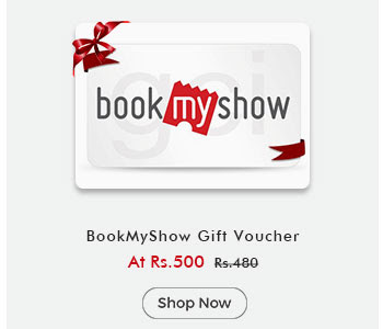 Bookmyshow Gift Voucher By ShopClues @ Rs.480