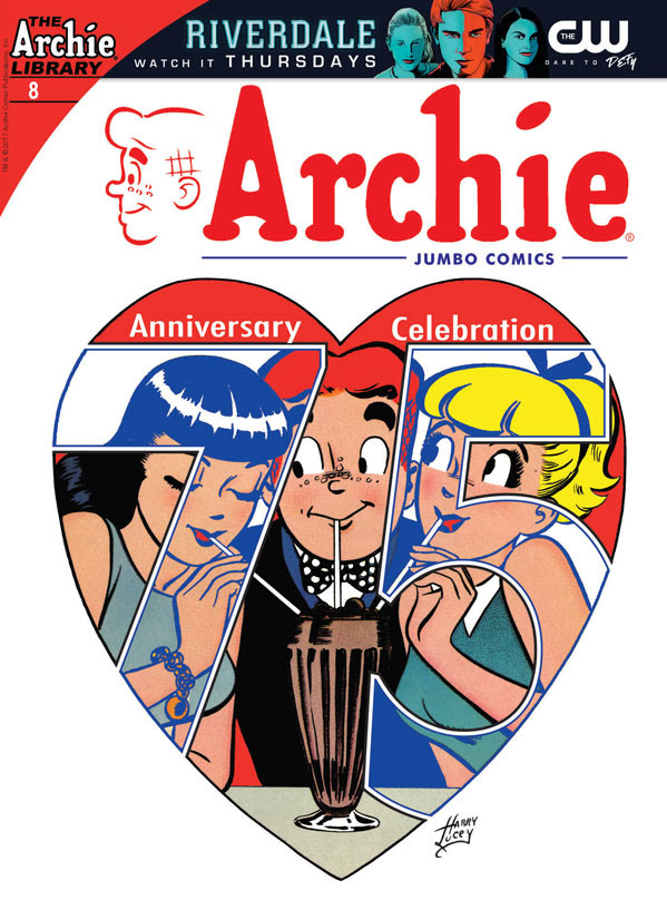 Archie 75th Anniversary 8 Cover
