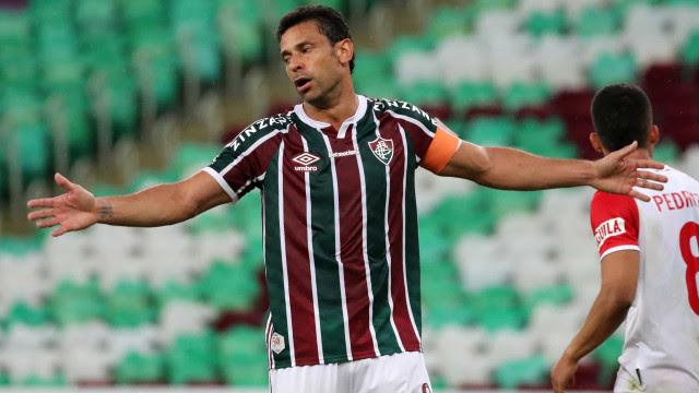 Fred vira terceiro maior artilheiro brasileiro da Libertadores: 'É especial'