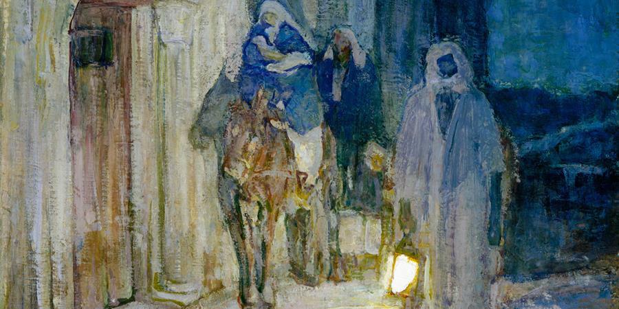 Image credit: Flight into Egypt (detail), Henry Ossawa Turner, 1923, Metropolitan Museum of Art.