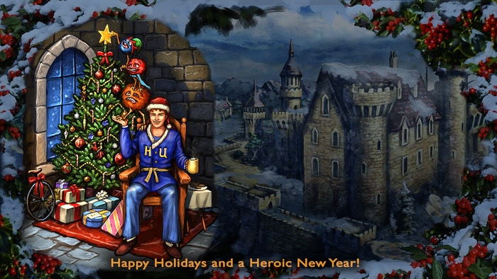 Happy Holidays from www.hero-u.com