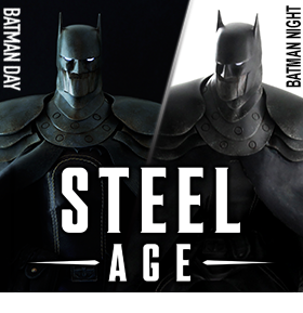 STEEL AGE BATMAN DAY & NIGHT