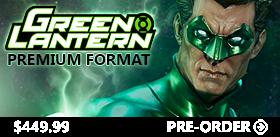 GREEN LANTERN PREMIUM FORMAT STATUE